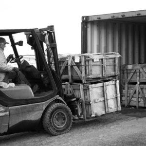 Alpha Stone Container Naturstein Stapler