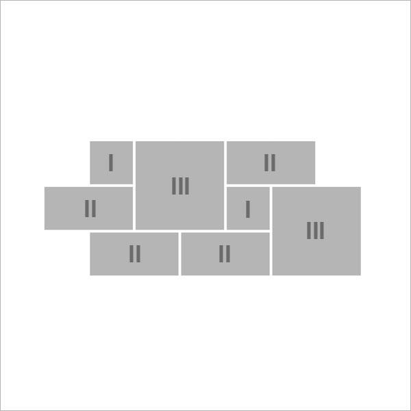 a r mischer verband mit 3 formaten alphastone. Black Bedroom Furniture Sets. Home Design Ideas