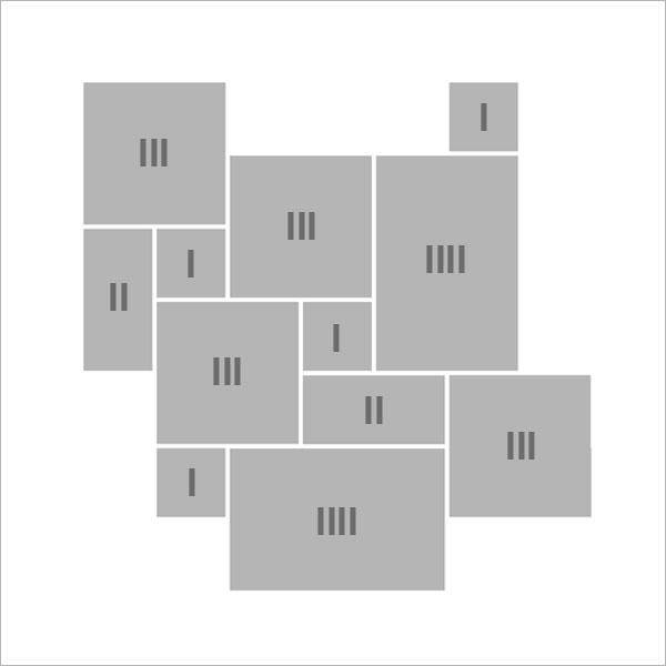 B - Römischer Verband - 1 Set