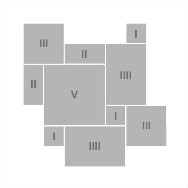 C - Römischer Verband - 1 Set