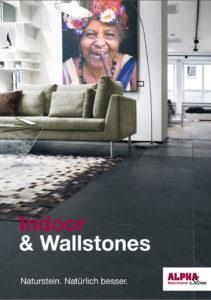 Alpha Stone Naturstein Indoor & Wallstones Katalog 2016