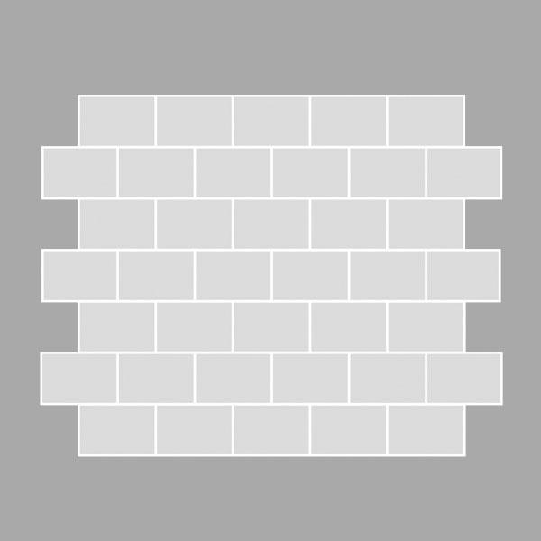 Halbverband Verlegeform 05