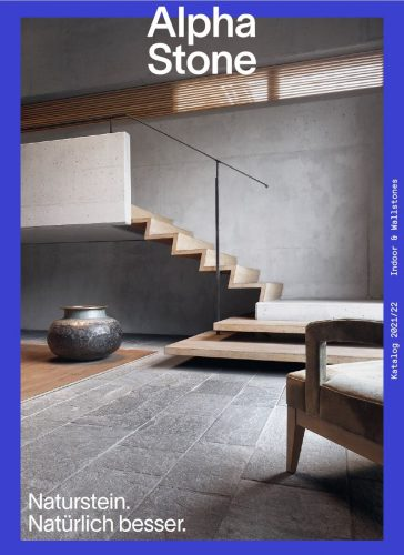alphastone indoor katalog 2021 cover