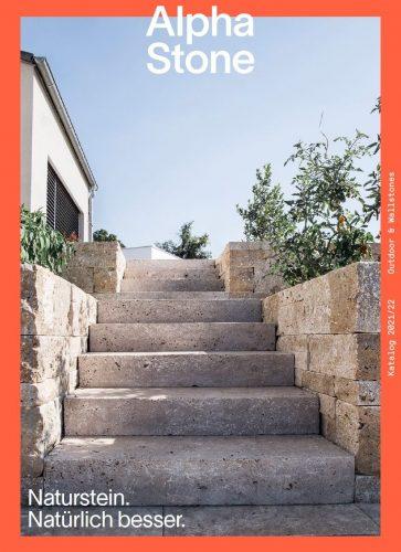 alphastone outdoor katalog 2021 cover